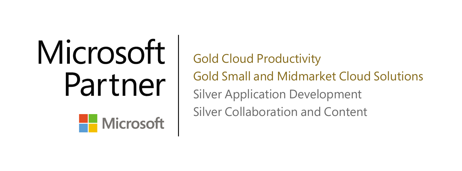 Microsoft Partner Gold Cloud & Small/Midmarket Cloud Solution, Silver Application Development & Collaboration
